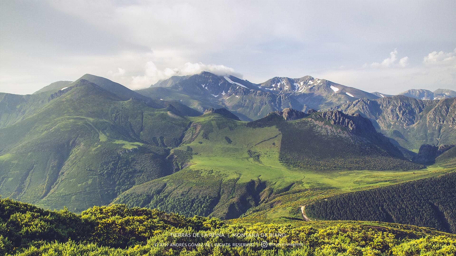 Tierras de la Reina desde Sierra Mediana