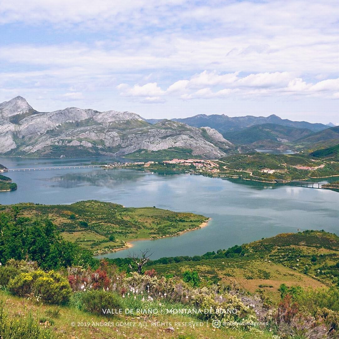 Valle de Riaño desde Cueto Pujedo