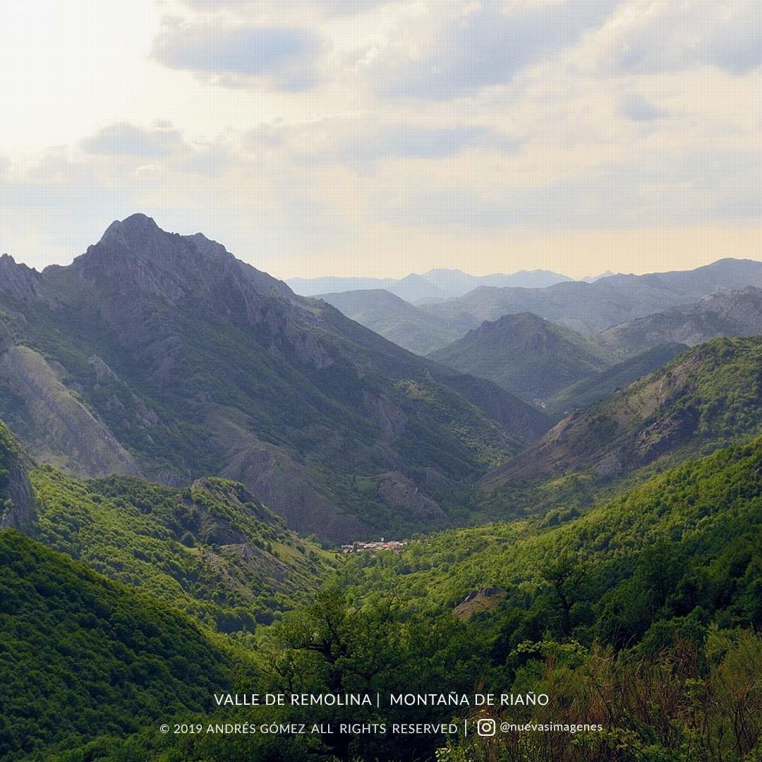 Valle de Remolina desde Mostagerosa