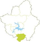 Mini mapa del Valle de Prioro