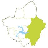 Mini mapa Tierras de la Reina