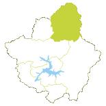Mini mapa del Valle de Valdeón
