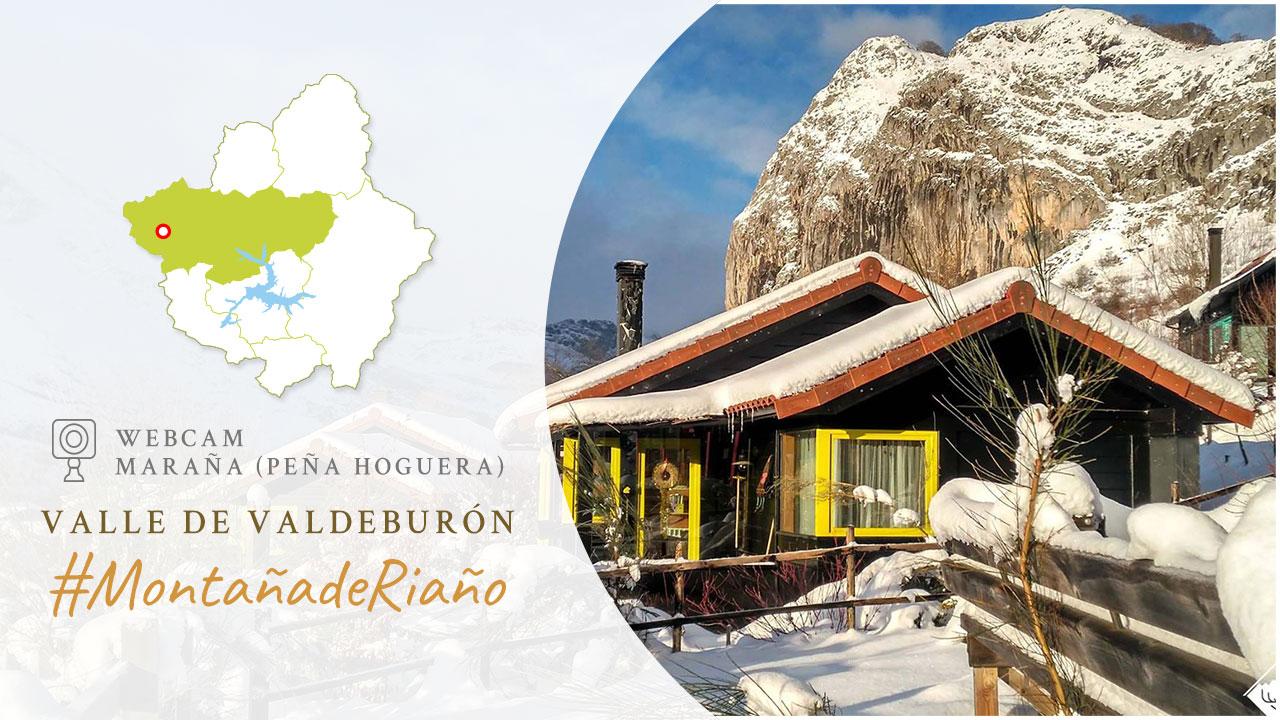 WebCam en Maraña con vistas hacia Peña Hoguera