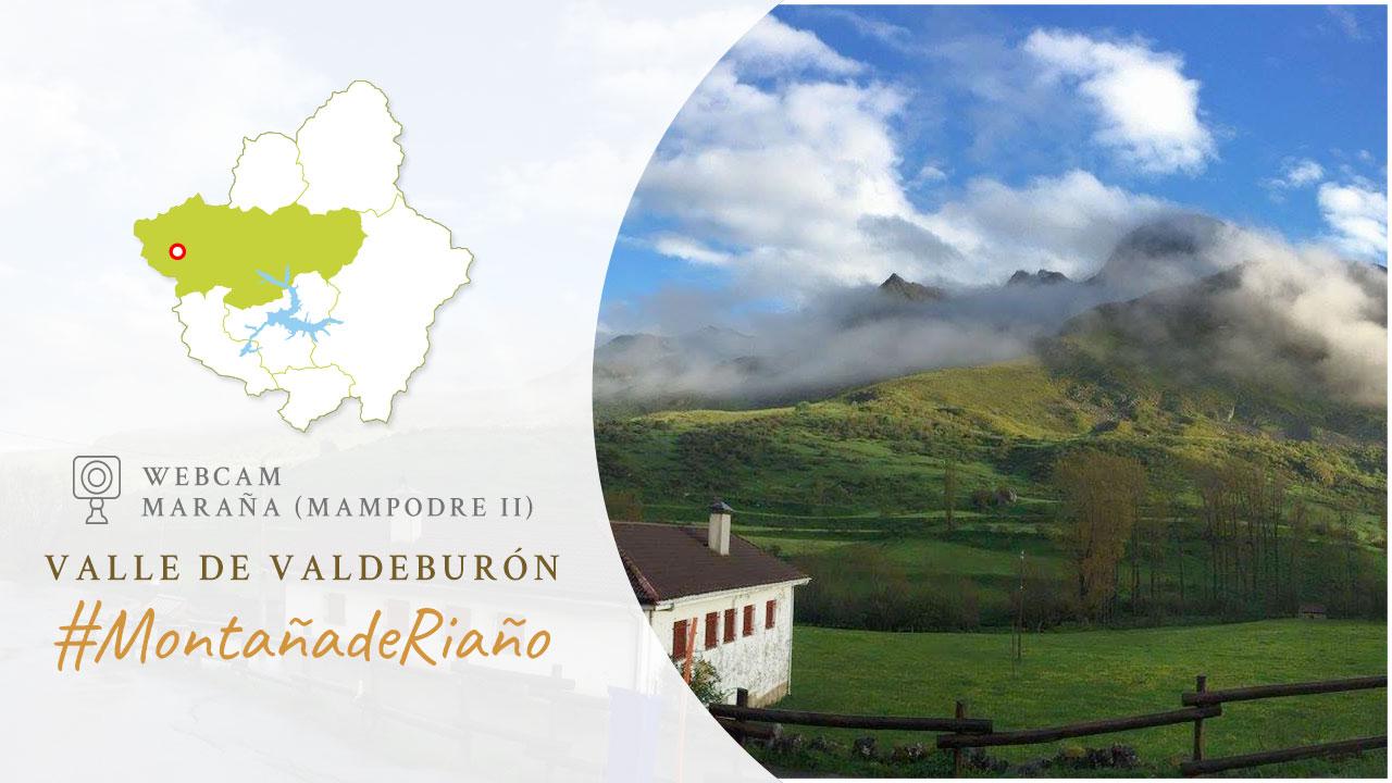WebCam en Maraña con vistas al Macizo del Mampodre